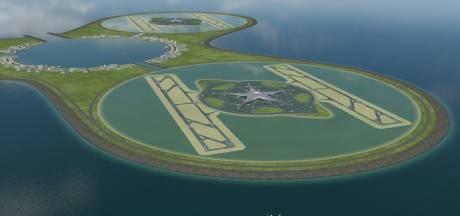 Een vliegveld op zee lijkt niet langer te hoog gegrepen