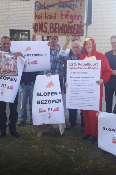 Alliantie stopt met omstreden sloopplannen, maar buurt blijft boos: 'Iedereen staat met lege handen'