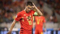 """Hazard: """"We kunnen niet elke match met 4-0 winnen"""" - Courtois ziet verbeterpunten na tegengoal: """"Die fout was niet nodig"""""""
