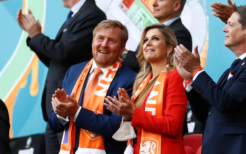 Helaas: koning Willem-Alexander en koningin Máxima vanavond niet juichend op de tribune Beeld Getty Images