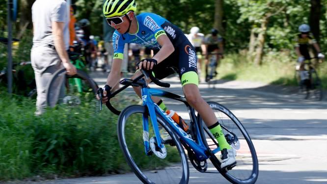"""Matti Van Speybroek in eerste koersmaand al drie keer top vijf: """"Zou graag een koersje winnen"""""""