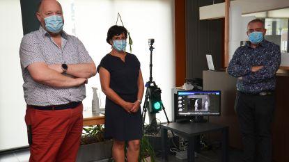 """Woonzorgcentrum Klateringen test nieuwe koortsscanner die zelfstandig werkt: """"Geen files meer bij temperatuurmetingen"""""""