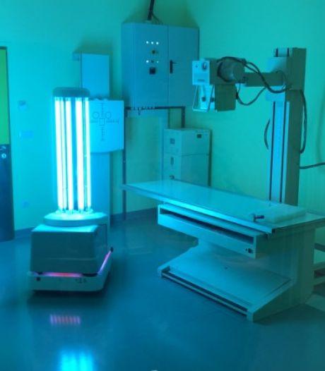 Deze 'zonnebank op wieltjes' helpt Zwols ziekenhuis Isala in strijd tegen corona
