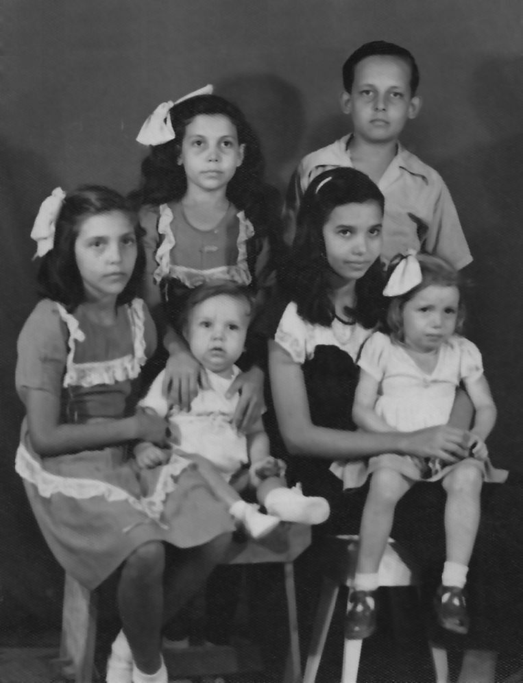 Zes kinderen Abraham Beeld Abraham, Archivo Boneiru