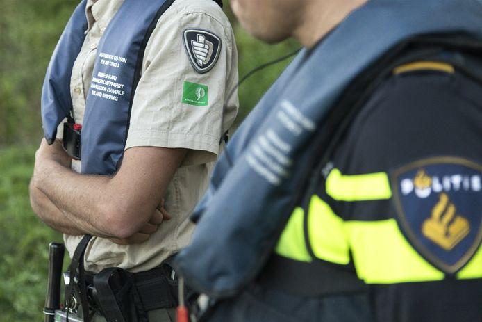 Politie en Staatsbosbeheer samen op pad.