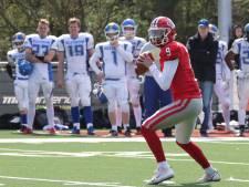 Enschedese quarterback Nijland staat voor zware opgave