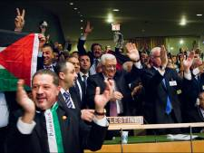 """Une plaque """"Etat de Palestine"""" pour le représentant palestinien à l'ONU"""