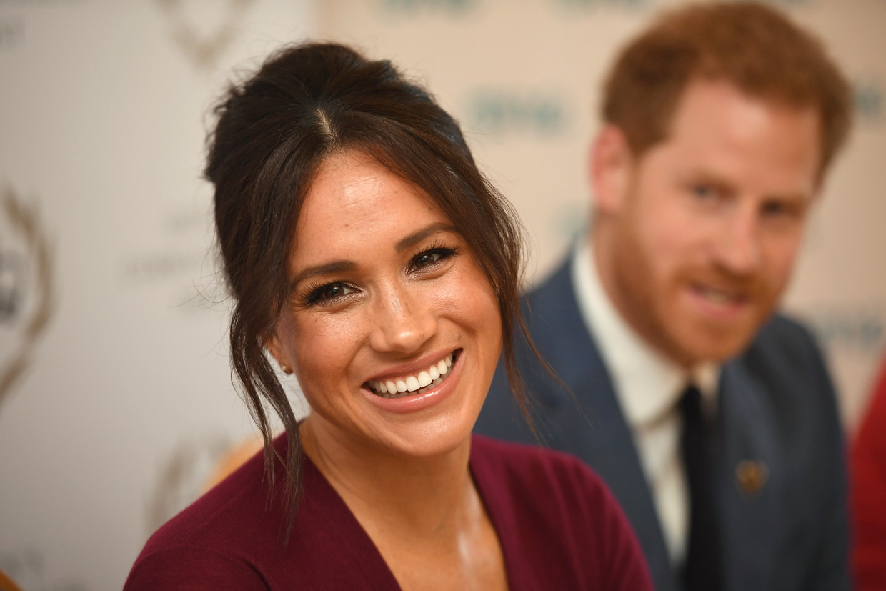 Meghan Markle en Prins Harry Beeld Getty Images