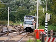Werk aan het spoor dus even geen metro van en naar Nesselande en Ommoord