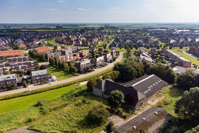 Boerderij De Keulvoet bij Onderdijks staat al sinds 2002 leeg, maar nu zijn er plannen met het perceel.