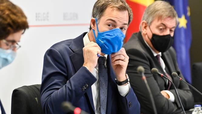 """LIVE. Volg hier persconferentie van Overlegcomité - """"Heropening binnenhoreca van zodra aantal bedden op intensieve onder 500 daalt"""""""