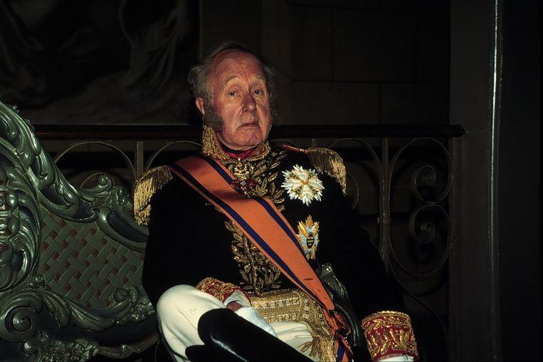 Sieto Hoving als koning Willem I in Wij Alexander. Beeld anp