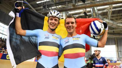 Europees kampioen! Robbe Ghys en Kenny De Ketele pakken goud in ploegkoers op EK in Glasgow