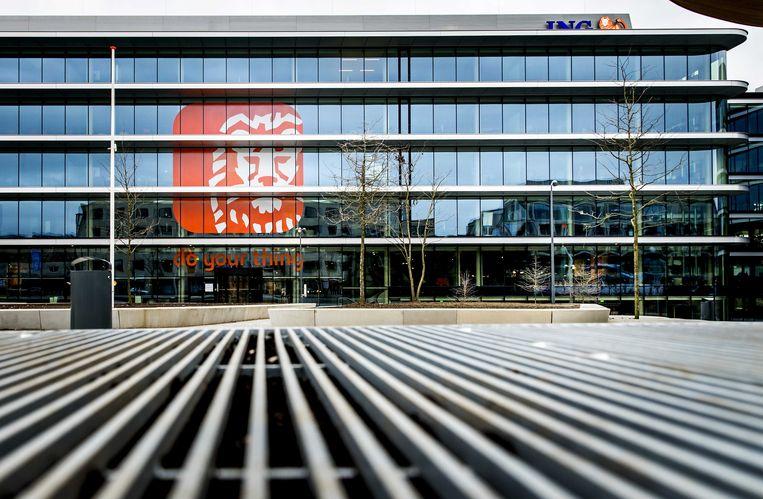 Het ING-hoofdkantoor op de Bijlmerdreef. Beeld ANP