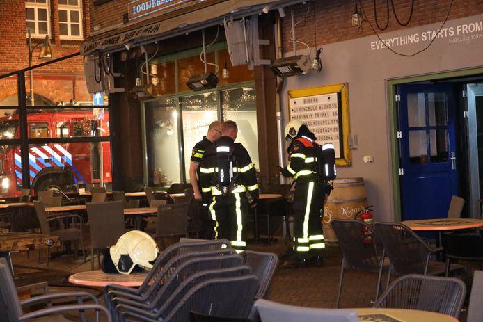 Rook bij eetcafé Kandinsky in Waalwijk