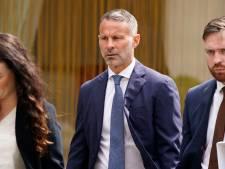 Ryan Giggs ontkent mishandeling van ex-vriendin in rechtbank
