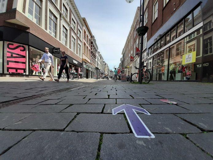 Looproutes in de Gasthuisstraat.
