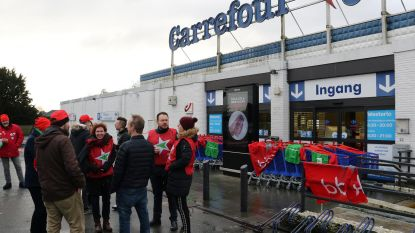 Carrefour blijft hele dag dicht