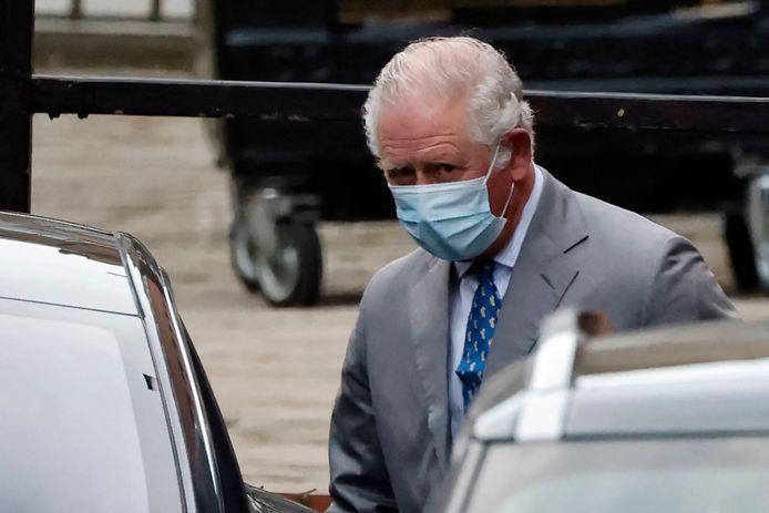 Le prince Charles a rendu visite à son père.