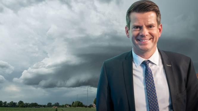 """Volgens weerman David Dehenauw blijven onweders tot minstens zaterdag weg: """"Dan breekt weer zeer natte periode aan"""""""