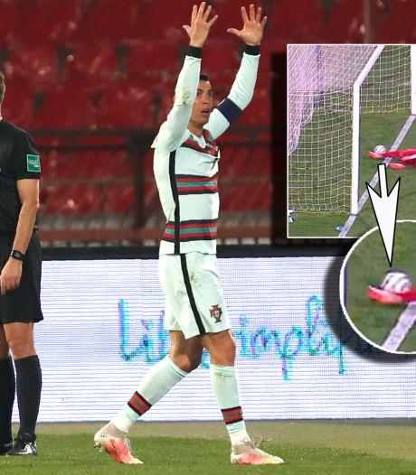 Ronaldo stapt woest van het veld na controverse met Makkelie en co