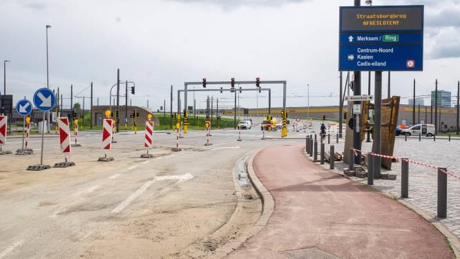 Wegverzakking onder Straatsburgbrug mondt uit in juridisch gebakkelei: noodoplossing in zicht voor havenverkeer