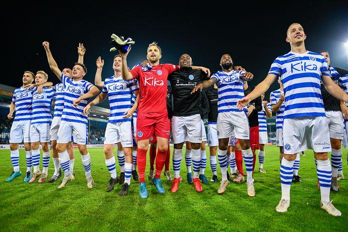 De Graafschap won vorige week met 2-0 van NAC Breda.