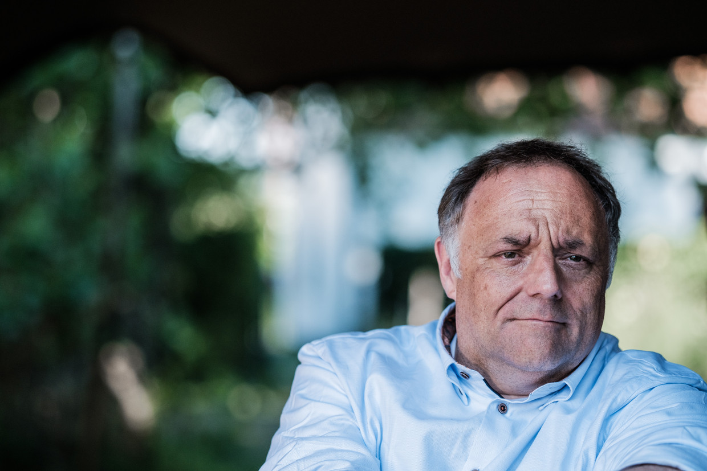 Viroloog Marc Van Ranst. Beeld Bob Van Mol