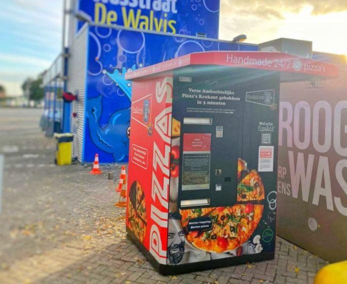 De pizza automaat in Dordrecht