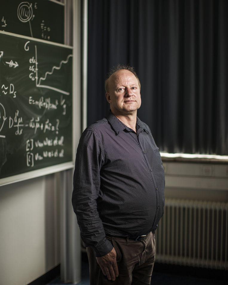 Fysicus Bart van Wees Beeld Jiri Buller