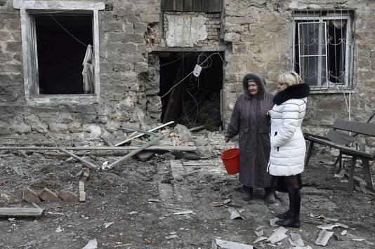 De angst voor oorlog heeft het leven in de stad Donetsk platgelegd.