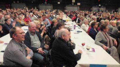 Meer dan 900 senioren genieten van optredens