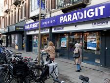 Computerketen Paradigit sluit winkels, ook vestiging aan Utrechtse Nachtegaalstraat dicht