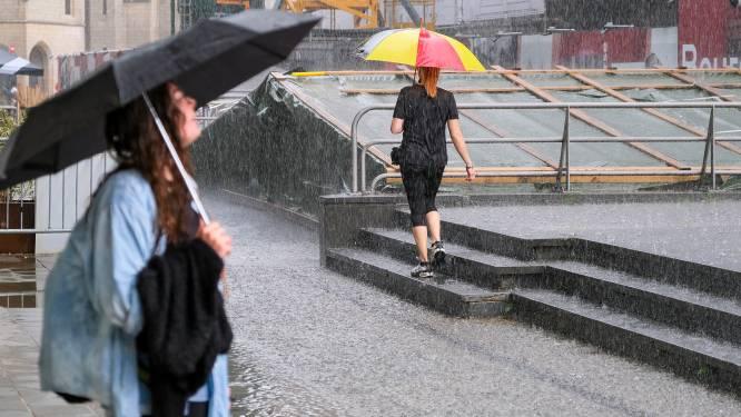 Opnieuw stevige onweersbuien verwacht in ons land: code geel vanaf de ochtend, nummer 1722 actief