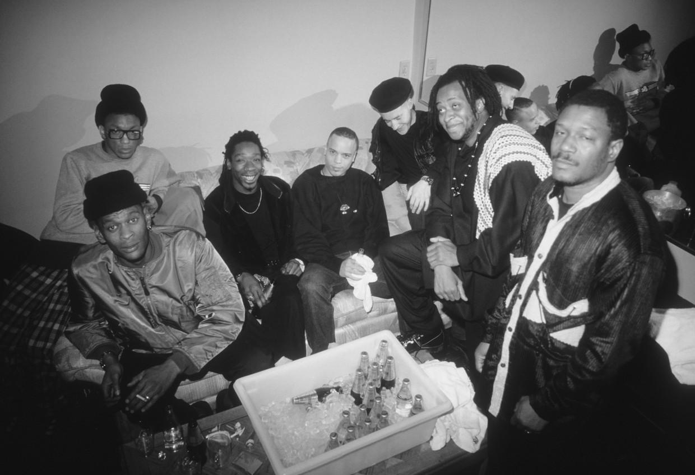 Massive Attack in Minneapolis, Minnesota in 1991, het jaar waarin debuutplaat 'Blue Lines' het levenslicht zag.  Beeld Getty Images