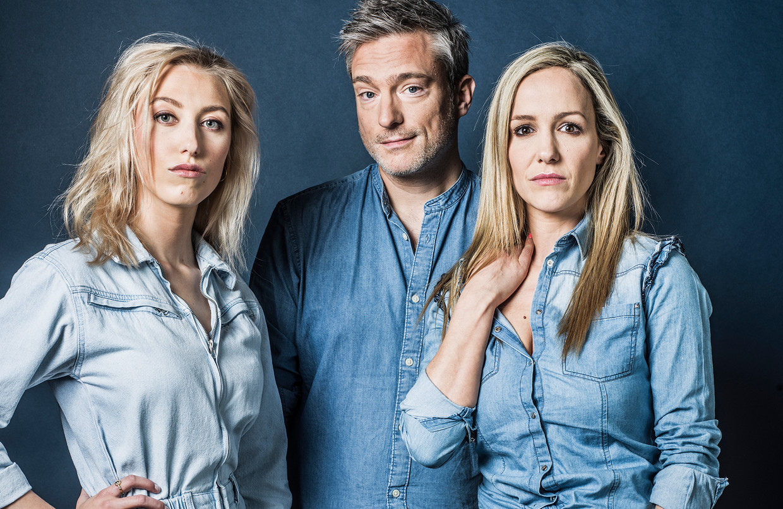 Alina, Gilles en Elisabet: 'Toen ik in de media kwam, was ik in paniek: ze gaan in mijn verleden graven en die eetstoornis en mijn miskraam ontdekken!' Beeld Johan Jacobs / Humo