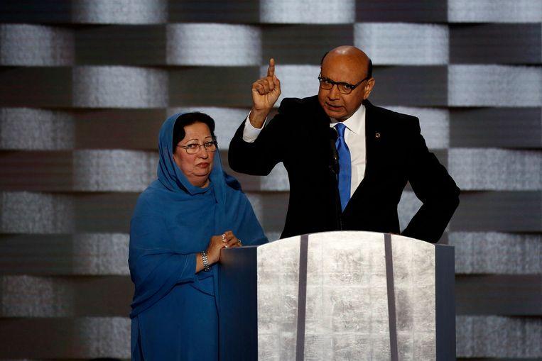 Khizr Khans zoon overleed terwijl hij in het Amerikaanse zat. Beeld Photo News