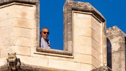 Obama's vieren Vaderdag in Avignon