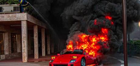 Zo gaat het nu met de fikkende Ferrari F40 uit Monaco
