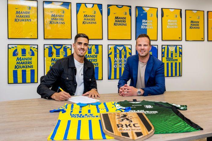 Joel Pereira tekent voor een jaar bij RKC Waalwijk.
