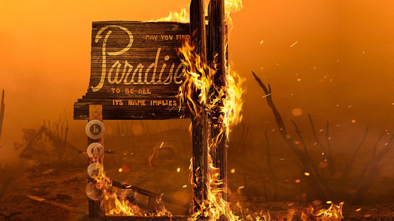 Rebuilding Paradise - DOCU (USA - 2020) Ron Howard - wallpaper Beeld /