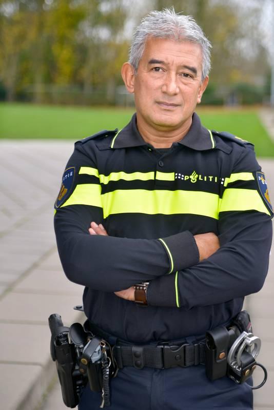 Max Daniel, politiecommissaris bij de Nationale politie.