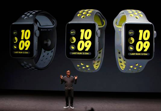 Apple lanceerde vanavond met Nike een speciale Nike+ hardloop-versie van zijn Watch