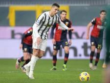 Rake strafschoppen Cristiano Ronaldo helpen Juventus aan zege bij Genoa