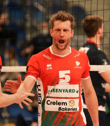 Lochemse volleyballer Jelte Maan (35) sluit indrukwekkende loopbaan af in België