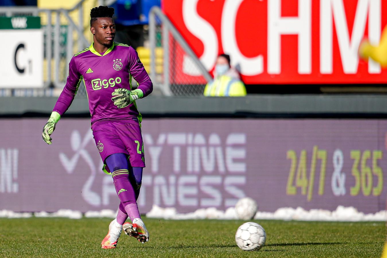 24-01-2021: Voetbal: Fortuna Sittard v Ajax: Sittard (L-R): Andre Onana of Ajax