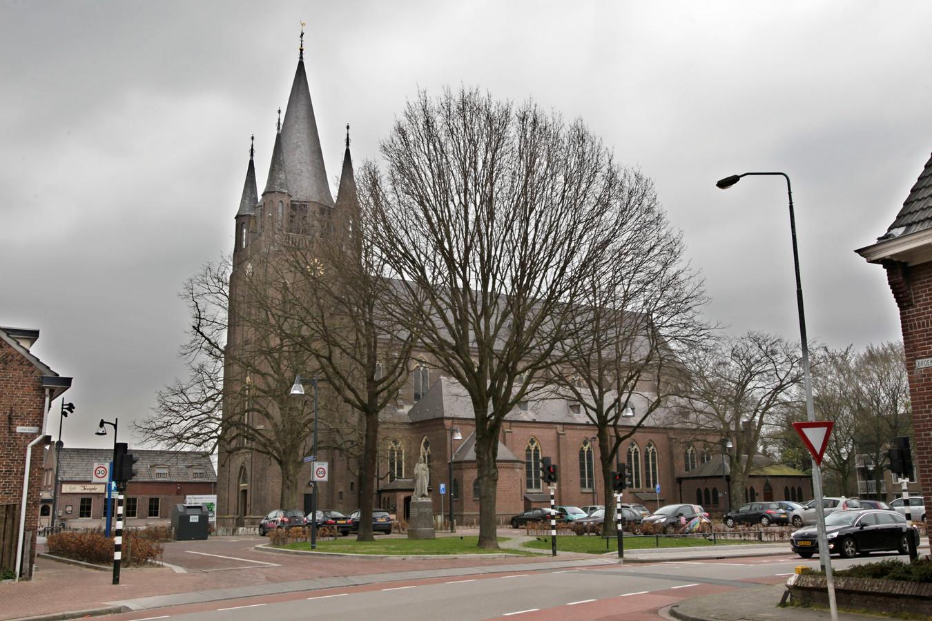 De H. Willibrorduskerk in Zeelst.