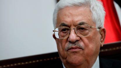 Palestijnse president Abbas verontschuldigt zich voor antisemitische uitspraken