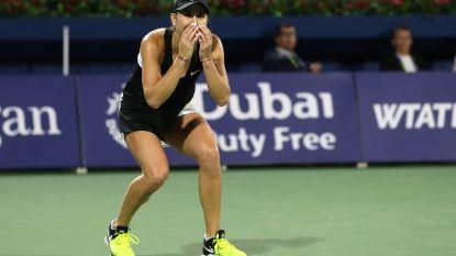 Isner laat zich verrassen door kwalificatiespeler - Bencic klopt Kvitova in Dubai en pakt derde WTA-titel