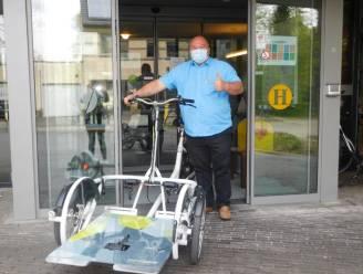 Dankzij deze speciale fietsen kunnen bewoners WZC Villa Hugardis ook genieten van fietstochtje